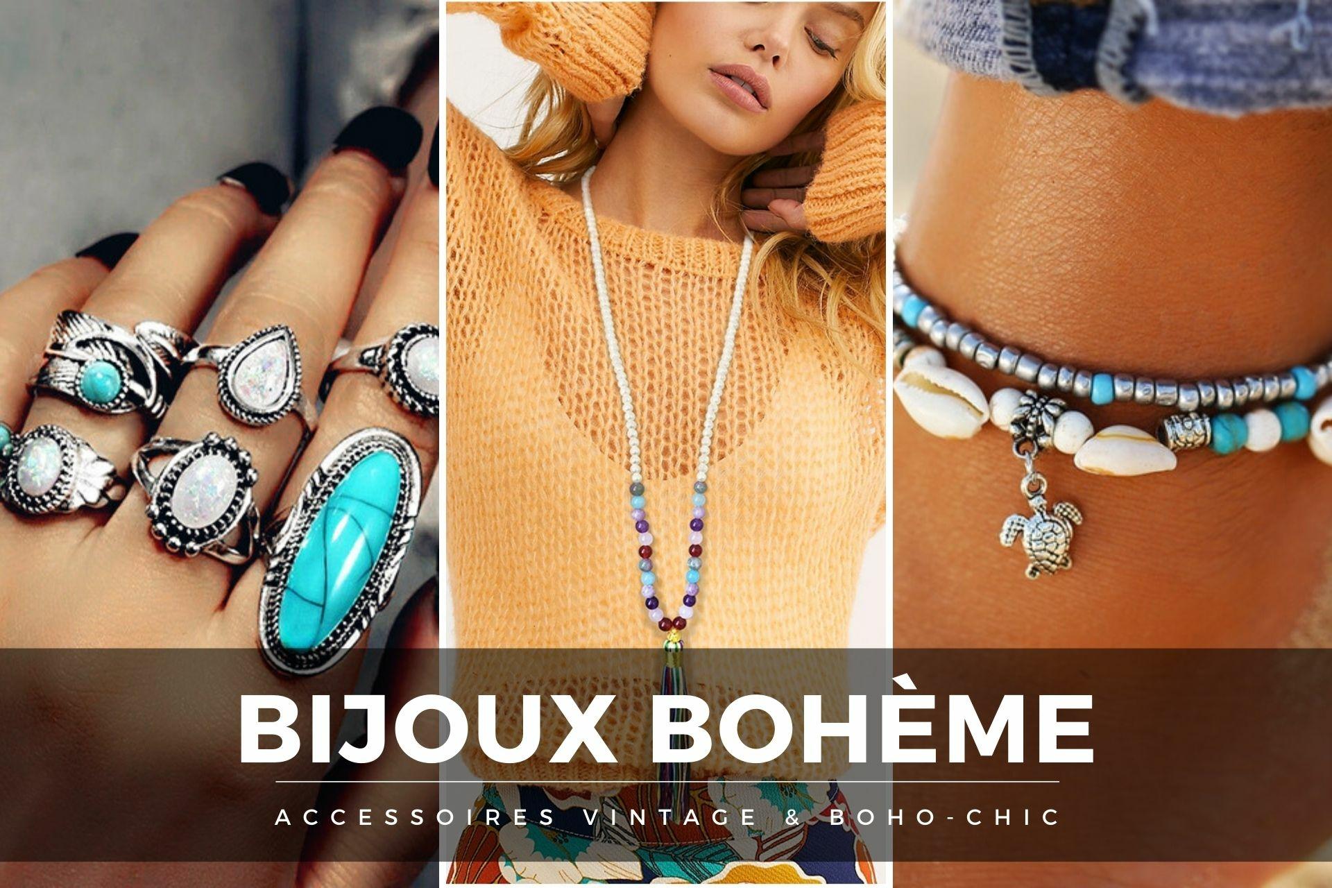 bijoux bohème Vintage
