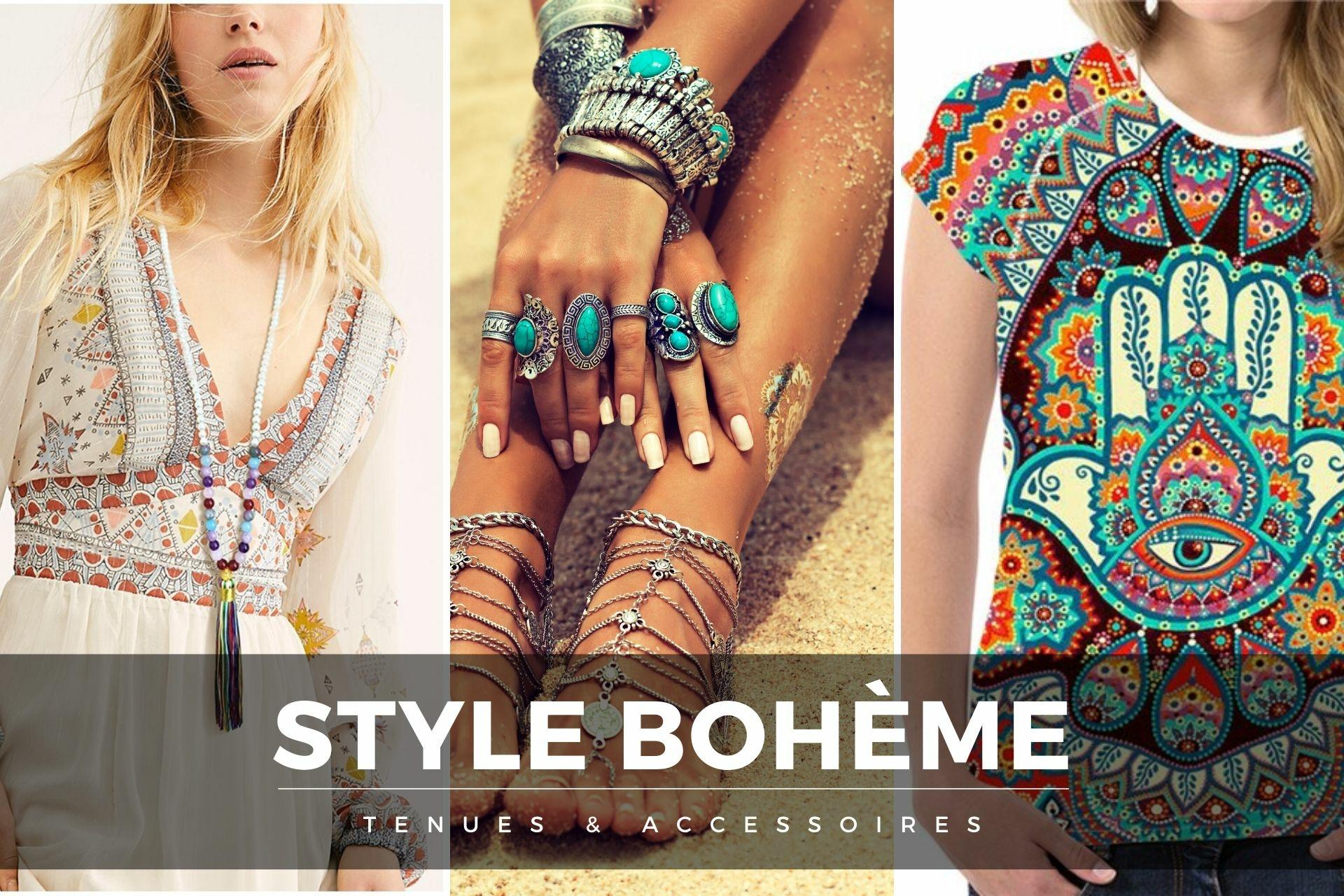 tenues et accessoires boho-chic