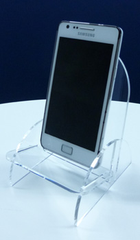 SUPPORT IPHONE / SMARTPHONE PLEXIGLAS EN KIT