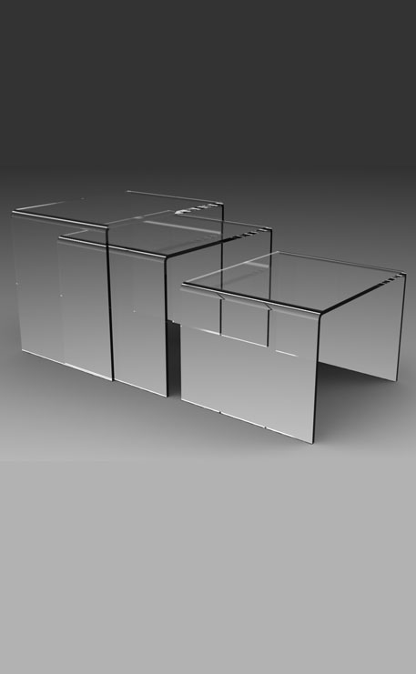 table basse plexiglass gigogne city d co et mobilier plexiglass mobilier plexiglass espritplexi. Black Bedroom Furniture Sets. Home Design Ideas