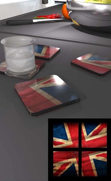 dessous de verre plexiglass imprime poker. Black Bedroom Furniture Sets. Home Design Ideas