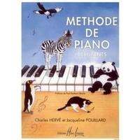 METHODE PIANO DÉBUTANTS de CHARLES  HERVÉ et JACQUELINE POUILLARD