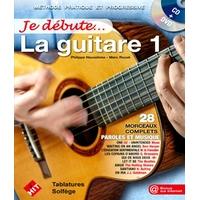 JE DEBUTE LA GUITARE CD+DVD