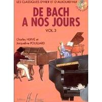 DE BACH A NOS JOURS VOLUME 3A