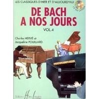 DE BACH A NOS JOURS VOLUME 4A