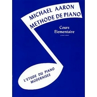 MICHAEL AARON COURS ELEMENTAIRE VOLUME 1