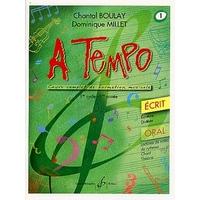 A TEMPO VOLUME 1 ECRIT