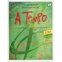 A TEMPO VOLUME 2 ECRIT