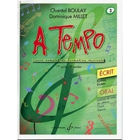 A TEMPO VOLUME 3 ECRIT