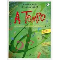 A TEMPO VOLUME 6 ECRIT