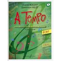 A TEMPO VOLUME 7 ECRIT