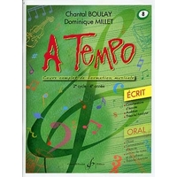 A TEMPO VOLUME 8 ECRIT