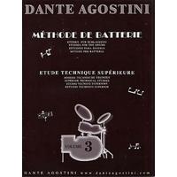 DANTE AGOSTINI METHODE DE BATTERIE VOLUME 3