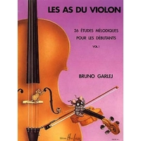 LES AS DU VIOLON VOLUME 1