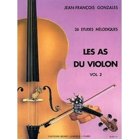 LES AS DU VIOLON VOLUME 2