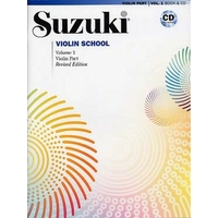 SUZUKI VIOLIN SCHOOL VOLUME 1