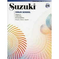 SUZUKI VIOLIN SCHOOL VOLUME 2