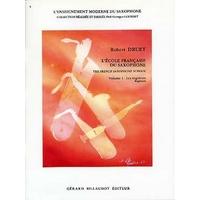 L'ECOLE FRANCAISE DU SAXOPHONE VOLUME 1