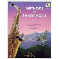 METHODE DE SAXOPHONE DEBUTANTS VOLUME 2