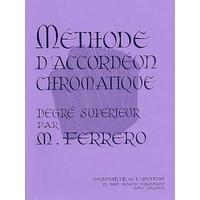 METHODE D'ACCORDEON CHROMATIQUE DEGRE SUPERIEUR