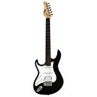 GUITARE CORT NOIR BRILLANT GAUCHER