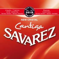 JEU DE CORDES SAVAREZ CANTIGA 510 CR POUR GUITARE CLASSIQUE