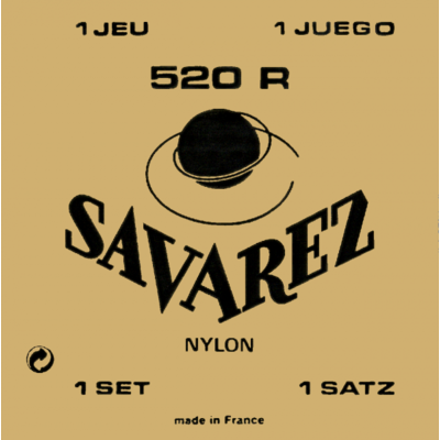 SAVAREZ 520R JEU DE CORDES  POUR GUITARE CLASSIQUE