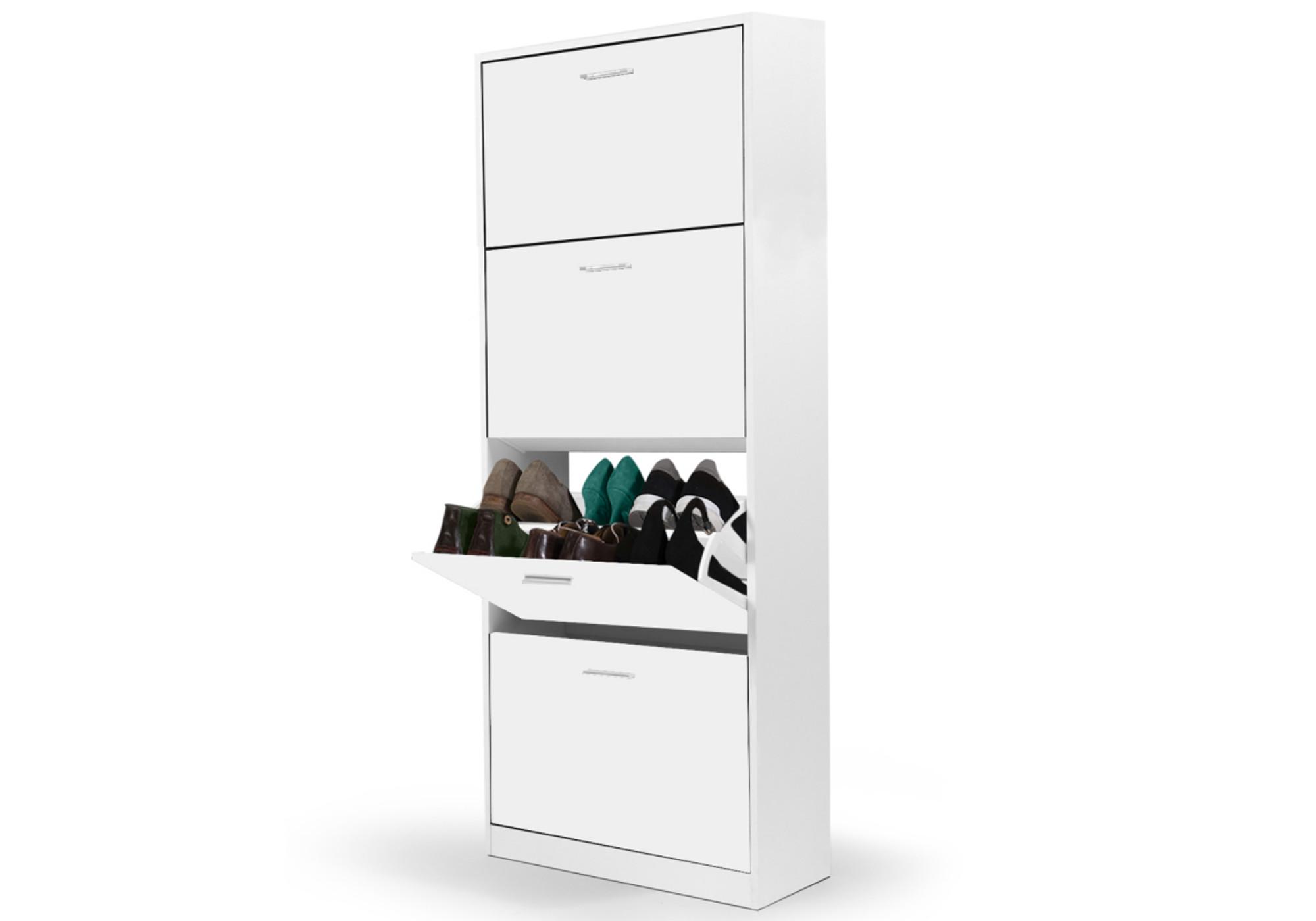 Meuble chaussure blanc CALI I