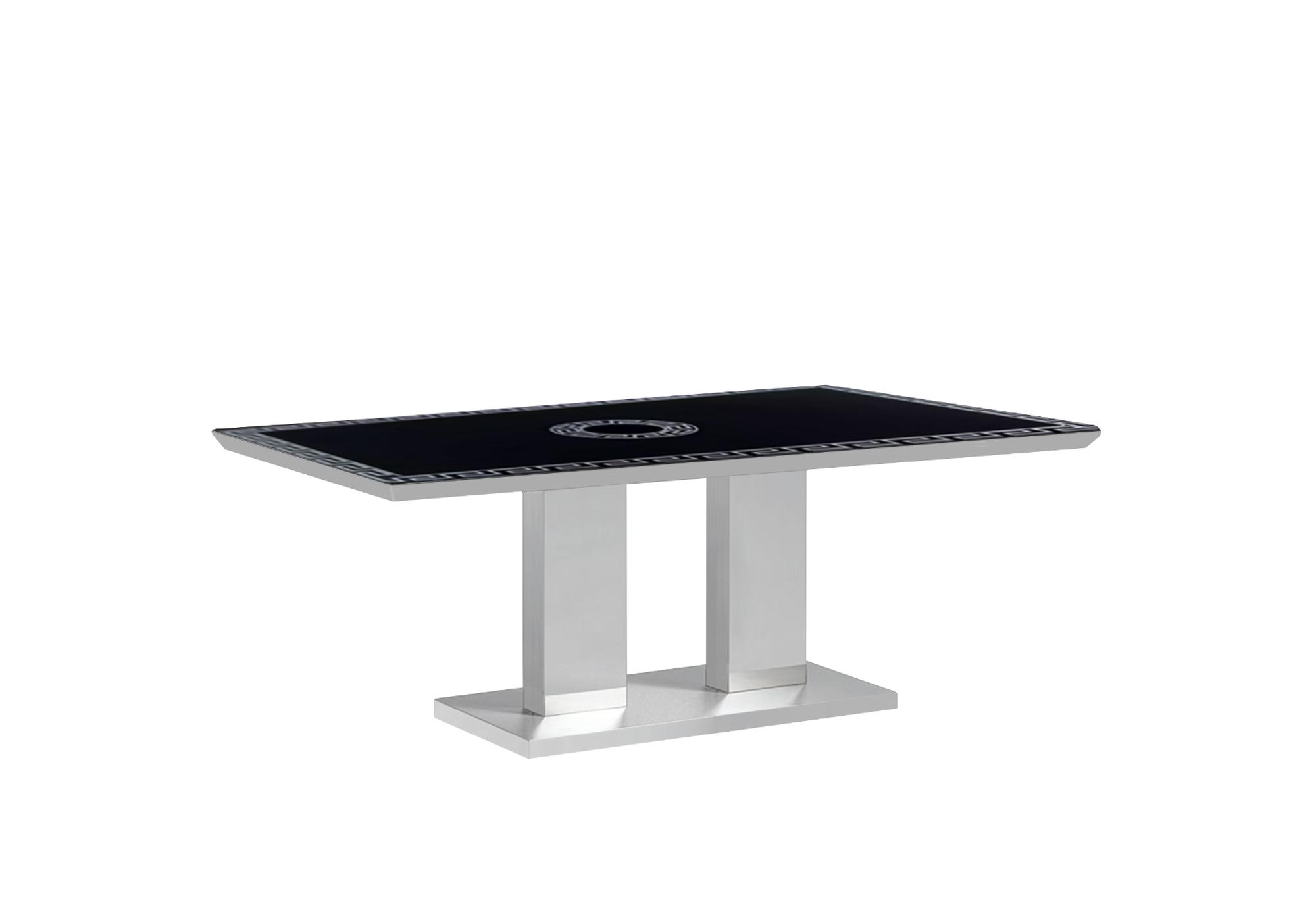 Table basse chromé versace IZA