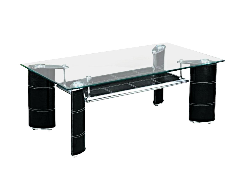 Table basse verre trempé TEVA