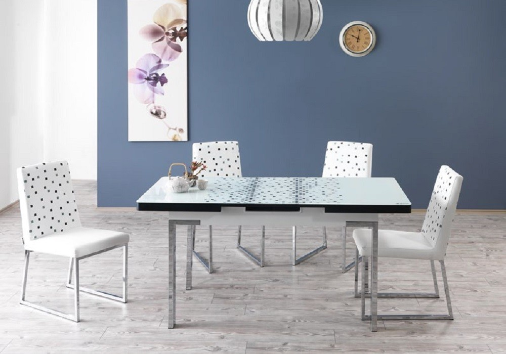 Extensibleamp; Blanc Extensibleamp; Table Chaises Rest Table N0O8kwnPX