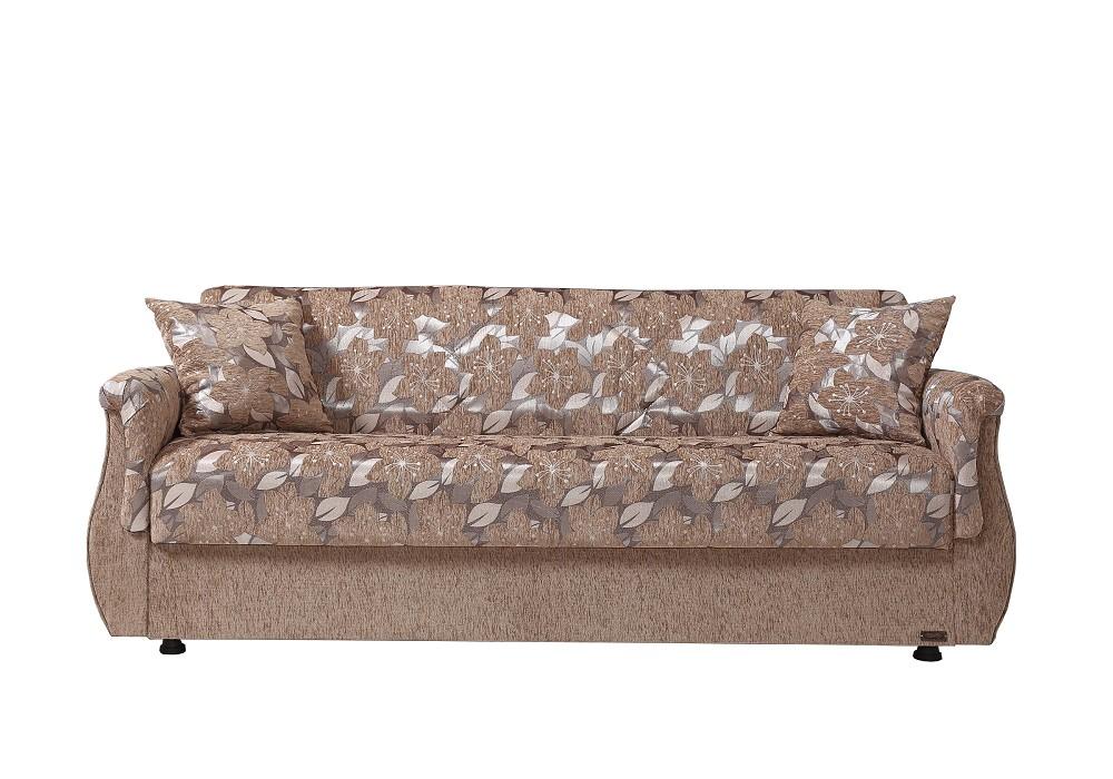 Canapé lit coffre oriental beige BUKET