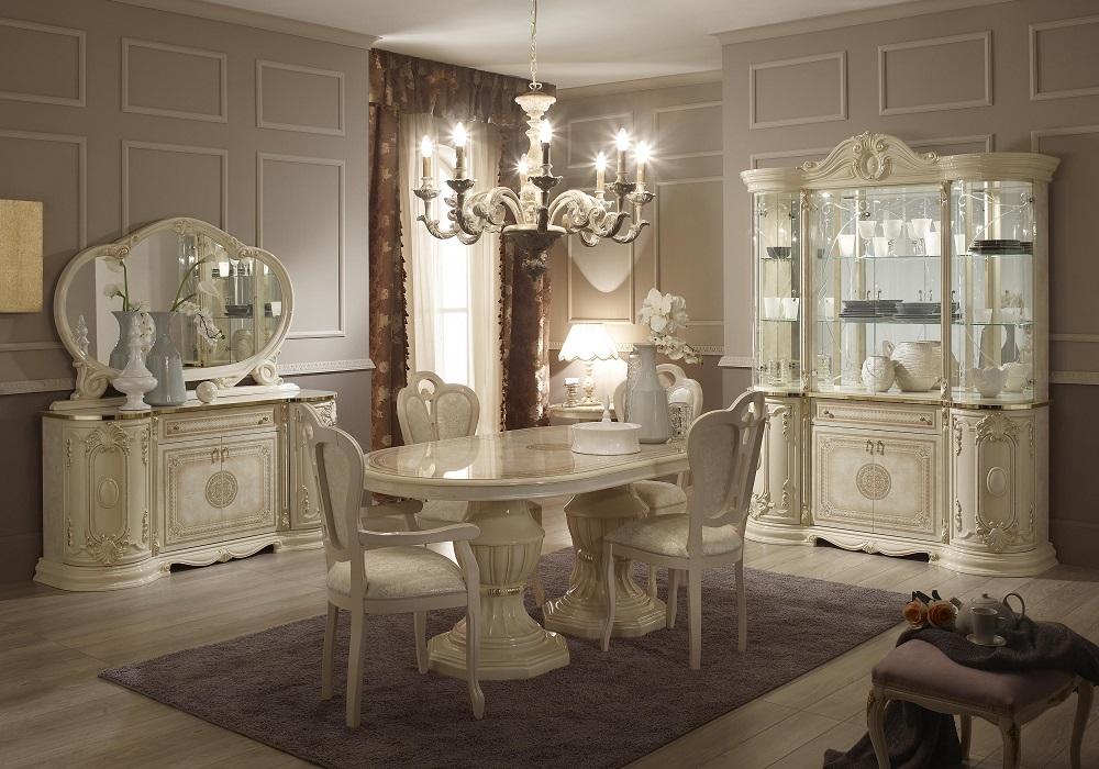 Meubles salle à manger laqué beige GRETA