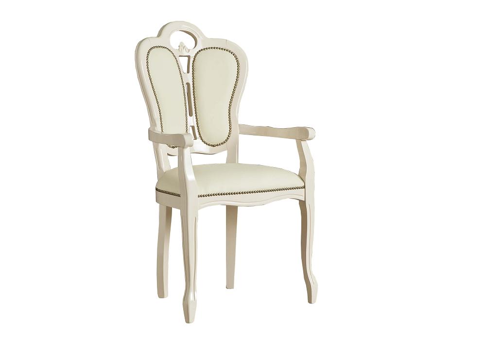chaise-cuir-accoudoire-cloute-or-greta-beige.1