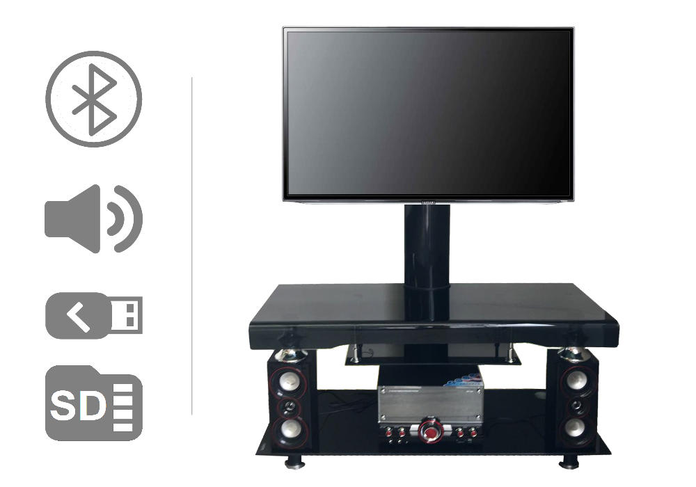 Meuble support TV home cinéma OPUS