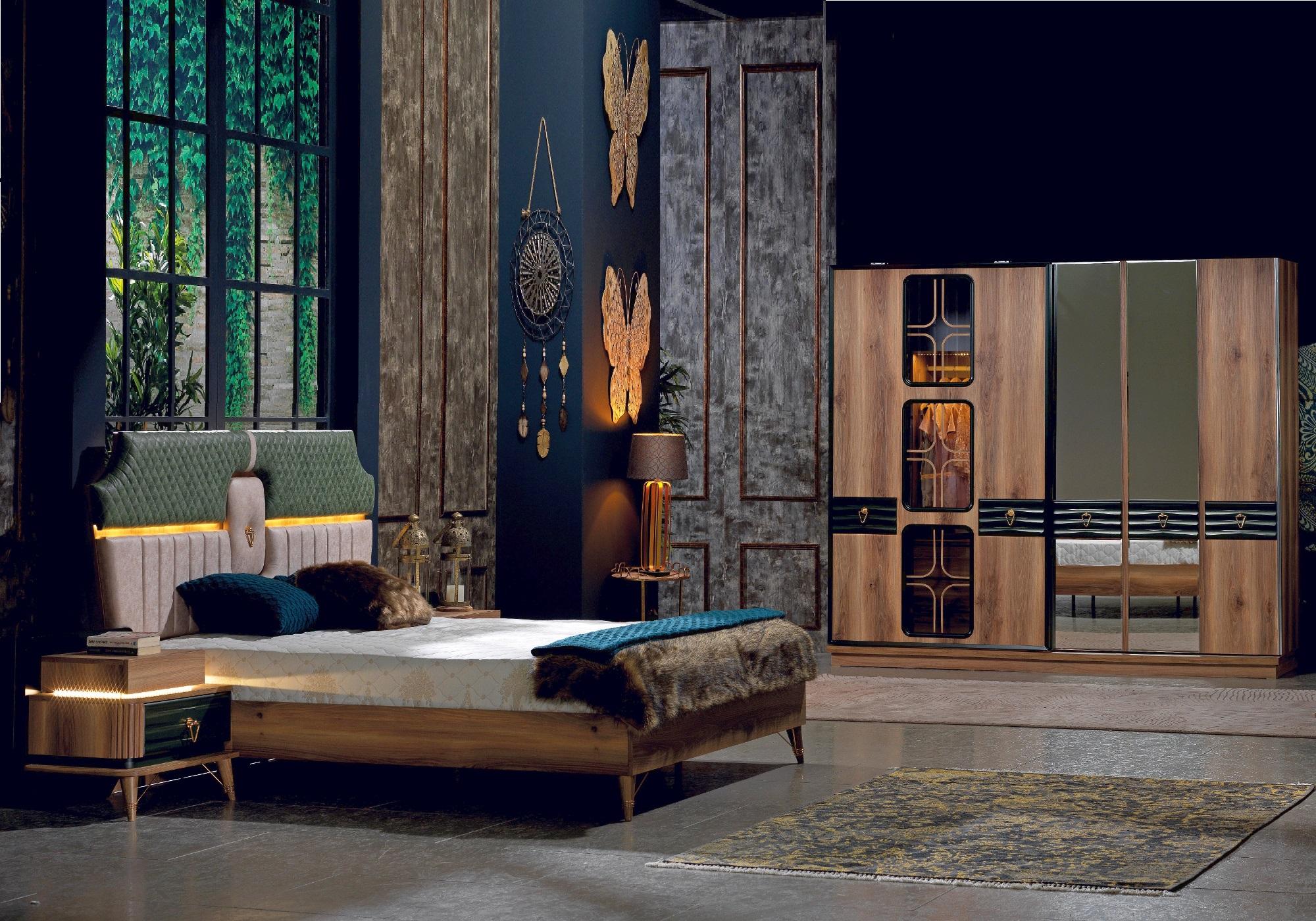 Chambre à coucher baroque BUGATTI