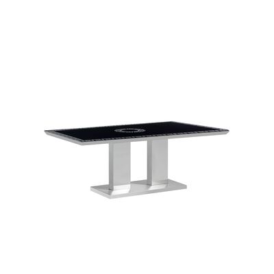 Table basse chromé versace IZA