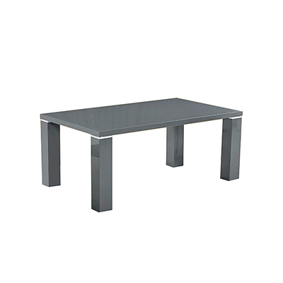 Table basse laqué gris UGO
