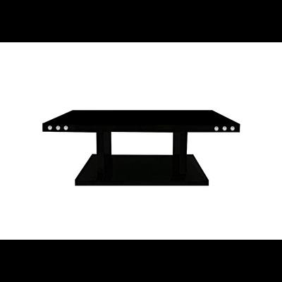 Table basse laqué noir AVA