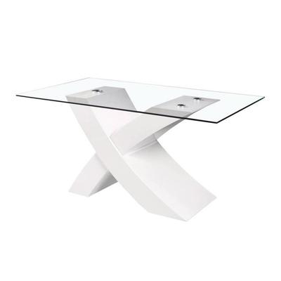 Table manger design laqué blanc ROY
