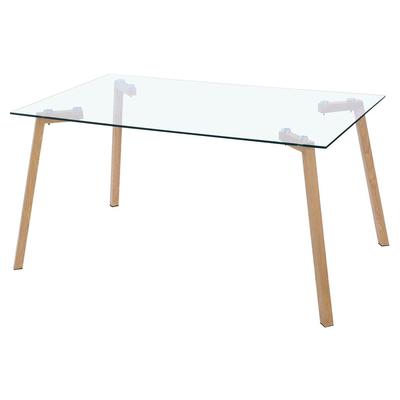 Table manger design verre trempé GINA