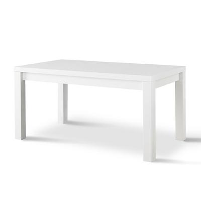 Table à manger et chaise laqué blanc FANO