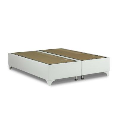 t te de lit capitonn simili cuir blanc ecoline moderne pas cher. Black Bedroom Furniture Sets. Home Design Ideas