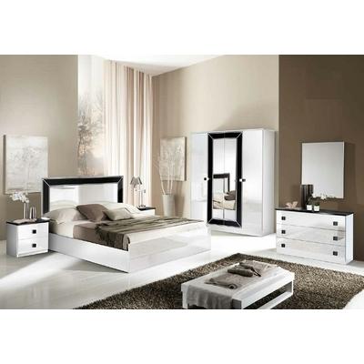 Chambre complète laqué blanc IDEA