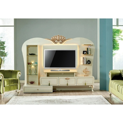 Mur-living Tv style baroque ASUR