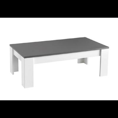 Table basse laqué gris MODENA
