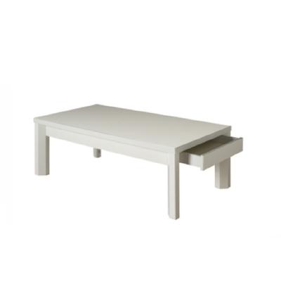 Table basse laquée blanc ATHENA