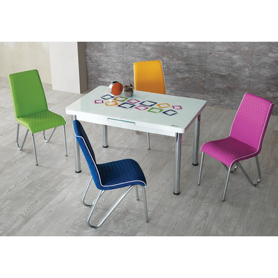 Table extensible & chaise COLOR