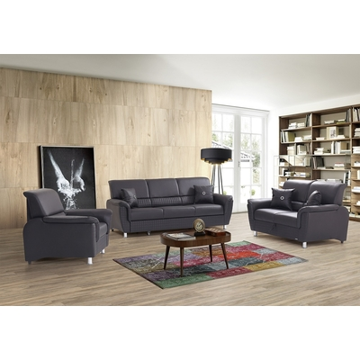 Canapé lit gris ARIZONA