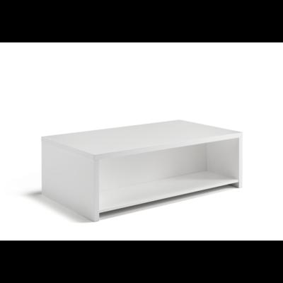 Table basse laqué blanc CORTINA